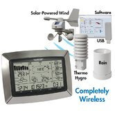 La Crosse Technology Professional Weather Center with Solar Wind Sensor