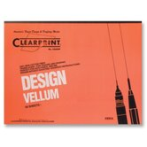 Vellum Pad, 50 Sheets, Acid-free, 11&quot;x17&quot;, White
