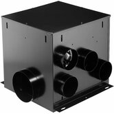 Multi-Port In-Line Ventilator Fan