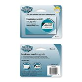 Business Card Magnets, 2&quot;x3-1/2&quot;, 10/PK