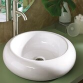 Classically Redefined 19.5&quot; Round Ceramic Vessel Sink