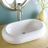 "Classically Redefined 22.25""x15.5"" Oval Vessel Sink"