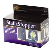 Static Stopper Pad, Towelettes, Foil Packets, 24/BX