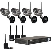 8 Channel Security DVR with 4 Digital Wireless Camera