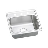 Pacemaker Gourmet 19&quot; x 18&quot; Single Bowl Sink Set