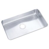 Lustertone 28&quot; x 16&quot; Undermount Single Bowl Sink Set