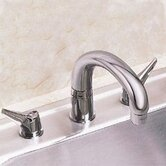 Deluxe Two-Handle Widespread Kitchen Faucet