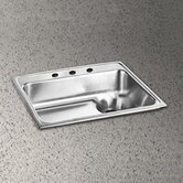 Lusterstone 25&quot; x 22&quot; Single Bowl Sink with Waste Drain Set
