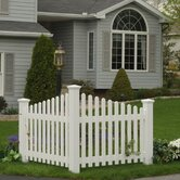 highwood® Pottsville decorative corner picket fence