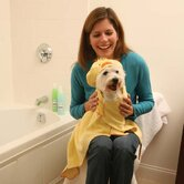 Barnyard Friends Hooded Dog Towel
