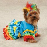 Polly Parrot Dog Costume
