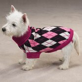 Andover Argyle Dog Sweater