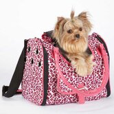 Vibrant Leopard Pet Carrier