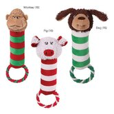 Peppermint Pal Monkey Dog Toy
