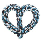 Rope Heart Dog Toy