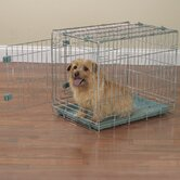 Smart Snap Dog Crate in Silver Sage