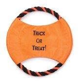 Trick or Treat Rope Flyer Dog Toy