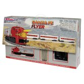 O Scale Santa Fe Flyer Train Set