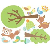 Animal Tales Peel and Stick Wall Stickers