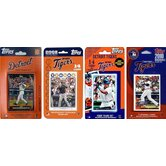MLB 2008, 2009, 2010 and 2011 Licensed Trading Card Team Set