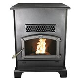 Large Pellet Heater with Ash Pan