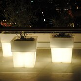 Torre Planter with Light