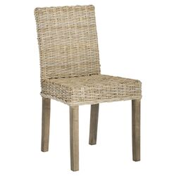 Grove Side Chair in Light Brown (Set of 2)