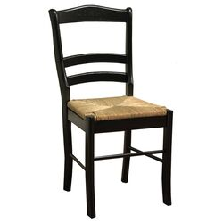 Paloma Side Chair in Black (Set of 2)