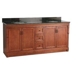 foremost naples 72 bathroom vanity set with granite top