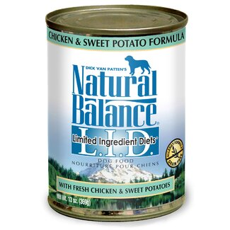 Natural Balance Limited Ingredient Diets Chicken and Sweet Potato Wet Dog Food