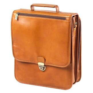 Clava Leather Tuscan Upright Vertical Brief