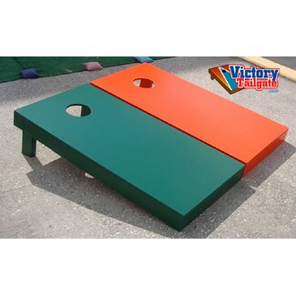 Victory Tailgate Mixed Solid Color Cornhole Bean Bag Toss Game