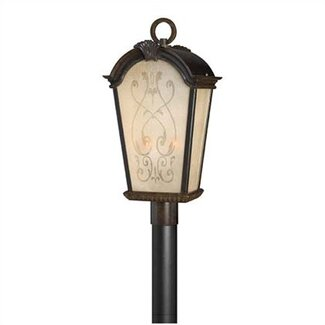 Hinkley Lighting Orleans  Outdoor Post Lantern in Regency Bronze