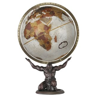 Replogle Globes Atlas World Globe