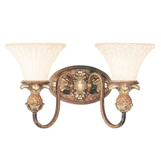 Livex Lighting Savannah  Vanity Light in Venetian Patina