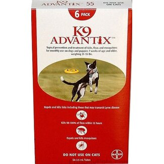 K9 Advantix K9 Advantix Flea & Tick Medication for Dogs