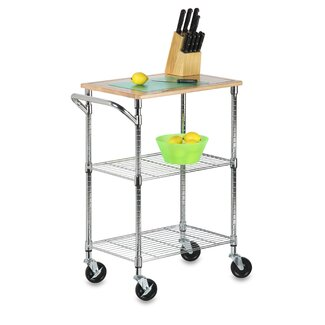 Honey Can Do Serving Cart