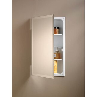 "Broan Nutone Specialty Perfect Square 26"" x 16""  Single Door Recessed Cabinet in Rust Resistant"