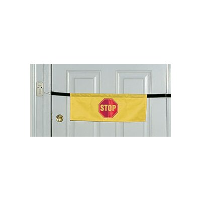 AliMed Alarm Door Banner in Yellow