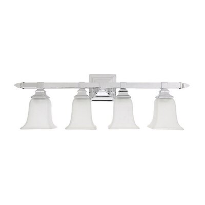 "Capital Lighting 10"" Four Light Bath Vanity in Chrome"