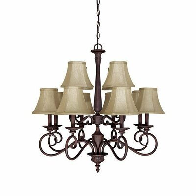 Capital Lighting Hammond 12 Light Chandelier