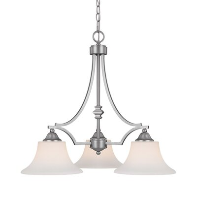Towne and Country 3 Light Chandelier