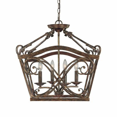 Reserve 4 Light Foyer Pendant