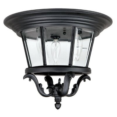 Capital Lighting Madison 3 Light Outdoor Wall Lantern