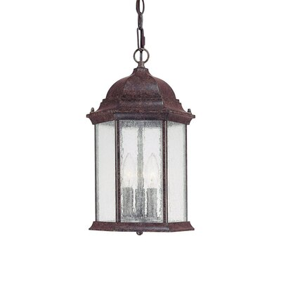 Capital Lighting Main Street 3 Light Outdoor Hanging Lantern
