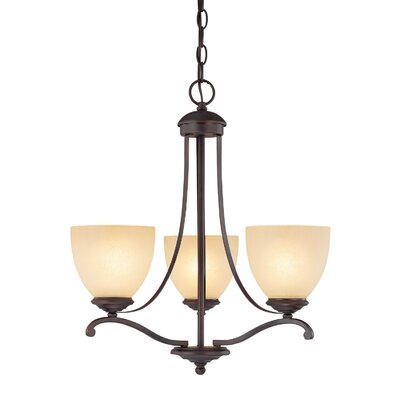 Capital Lighting Chapman 3 Light Chandelier