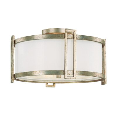 Capital Lighting Manhattan 3 Light Flush Mount