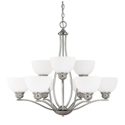 Capital Lighting Stanton 9 Light Chandelier