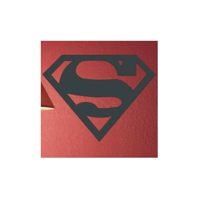 Alphabet Garden Designs Superman Wall Decal