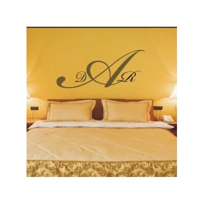 Alphabet Garden Designs Regal Monogram Wall Decal